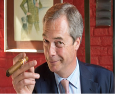 Farage cigar