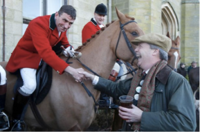 Farage fox hunt