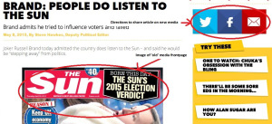 "Screenshot of sunnation.co.uk's ""Brand: People do listen to The Sun"""
