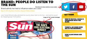 "Screenshot of sunnation.co.uk's ""Brand: People do listen to The Sun"""